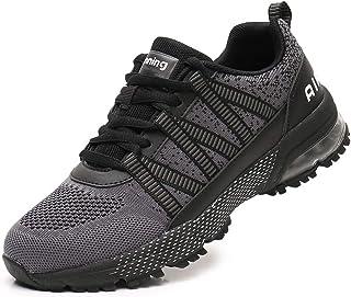 Uomo Donna Air Scarpe da Ginnastica Corsa Sportive Sneakers Running Interior Fitness Outdoor Sport Jogging Casual 34-46 EU