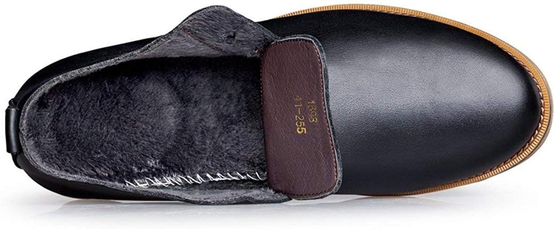 ZHRUI Boy's Men's Stylish Black Formal Business shoes Lace-up Oxfords UK 5.5 (color   -, Size   -)