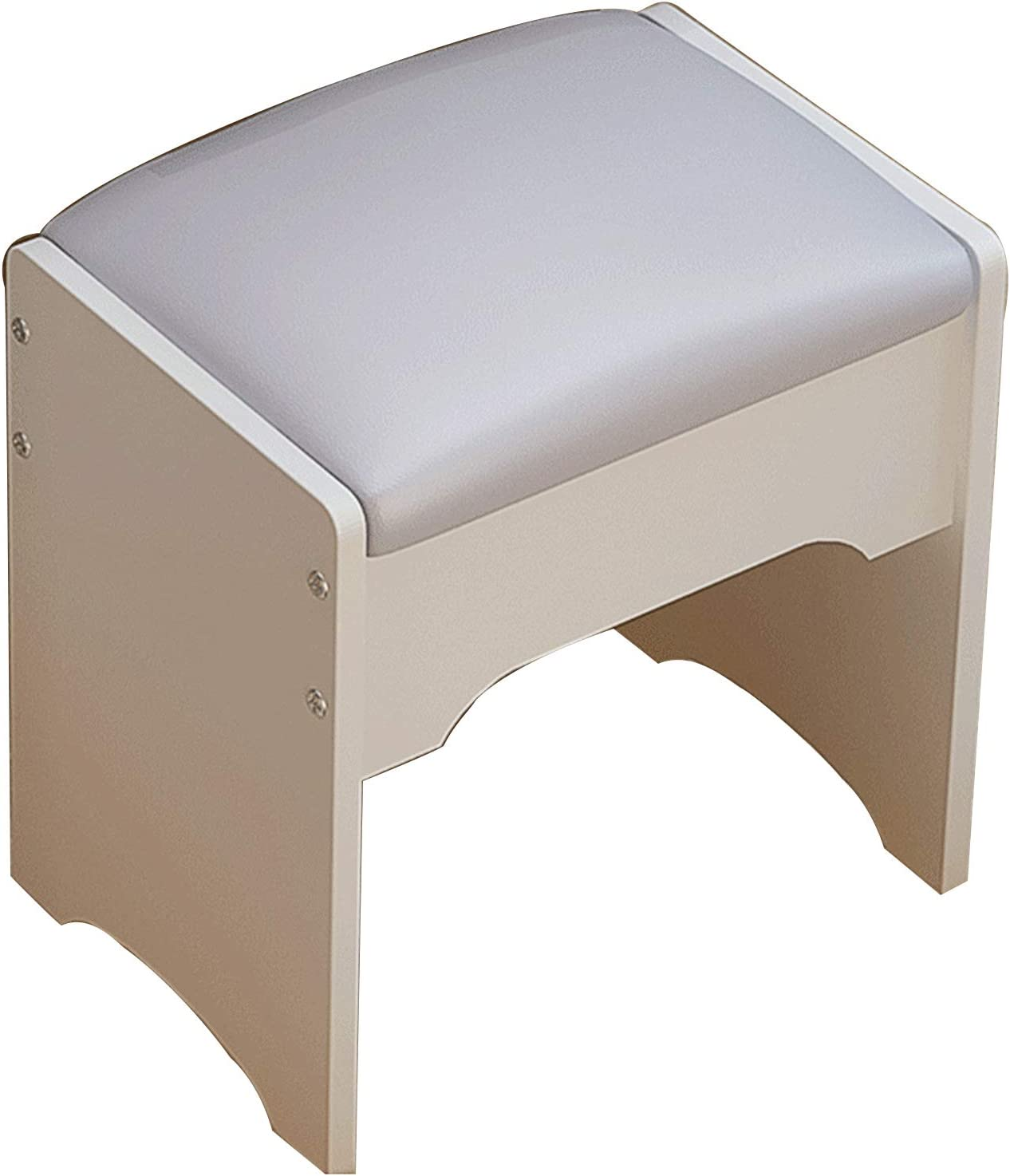 Seattle Mall Daoyuan Makeup Vanity Stool Durable Non-Slip Solid S Ranking TOP18 Wood Sturdy