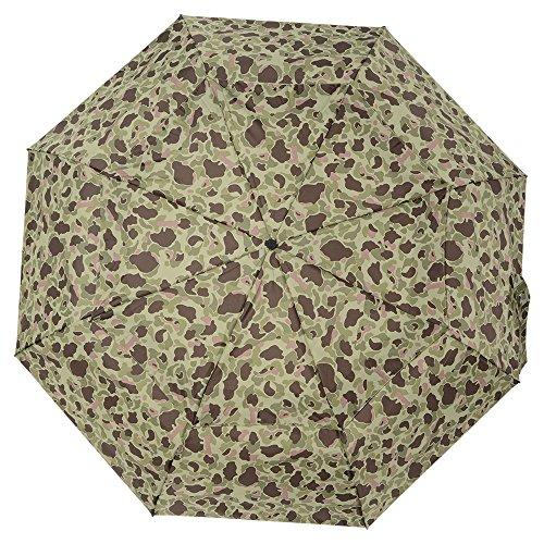 『totes 自動開閉 折り畳み傘 三つ折り 68cm カモフラグリーン 7523 7523』の2枚目の画像