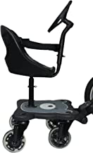 Eichhorn Cozy S Rider - Asiento para cochecito de niños negro negro