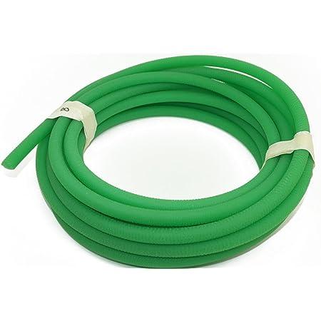 Ladieshow Green Rough Surface PU Polyurethane Round Belt for Drive Transmission 5mm10m