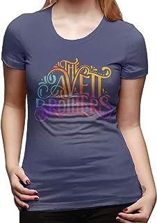 Jamychalsh The Avett Brothers Graphics Women's Fashion Round Neck Cool Soft T-Shirt