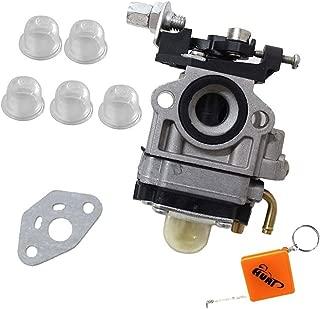 HURI Carburetor with Primer Blub Gasket for Troy Bilt Back Pack Blower 753-06442 753-08045 Craftsman TB2BP TB2BV EC