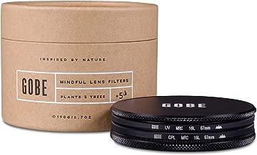 Gobe Filter Kit 67mm Schott MRC 16-Layer: UV + CPL Polarizer