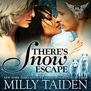 There's Snow Escape: BBW Paranormal Shape Shifter Romance audiobook cover art