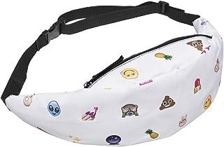 Kukoo Girls Unicorn Waist Bag Outdoor Emoji Belt Fanny Pack (Multiple Styles)