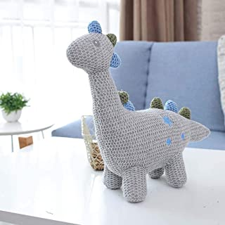 DRB Juguete for ni/ños Nueva Nuevo Creativo de Lana de Punto Animales de Peluche Appease Unicornio Conejo mu/ñeca Oso Elefante Dinosaurio Pegasus Felpa Color : E