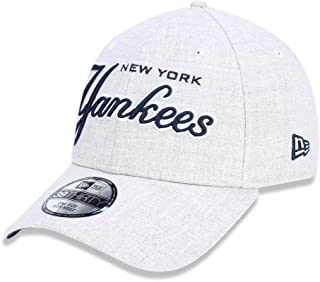 ab0df8256 BONE 3930 NEW YORK YANKEES MLB ABA CURVA AREIA NEW ERA