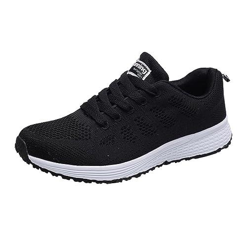 6d0dba6b5c8 Zapatos Mujer,Las Mujeres de Malla de Moda Ronda Cruzada Correas Planas Zapatillas  Zapatillas Deportivas