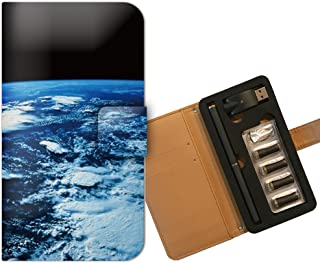 プルームテック ケース PloomTECH 手帳型 宇宙 B003803_01 宇宙 地球 アース 惑星 綺麗