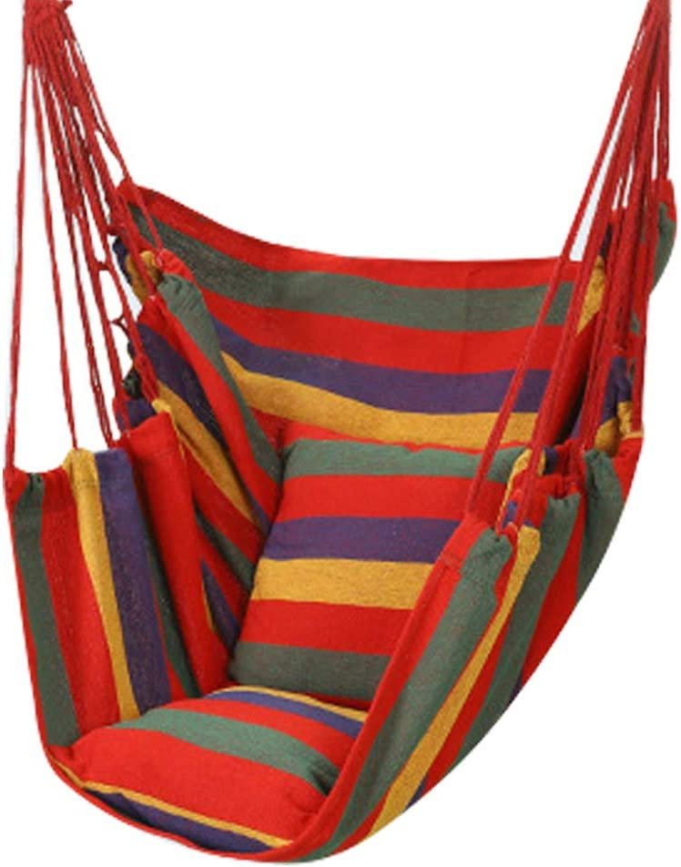 Mworld2 Hammock Chairs Swing Outstanding Seat Hanging Breathable Ranking TOP4 Cotton Chai