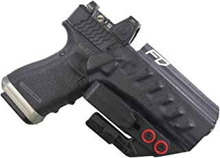 Fierce Defender IWB Holster Compatible with Glock 19 23 32 w/Tuckable Clip and Claw The Uninfringed Series -Made in USA- Gen 5 Compatible
