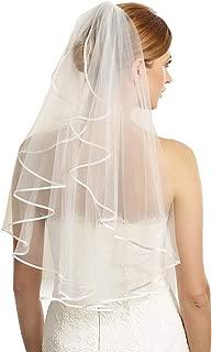 Best cream wedding veil Reviews