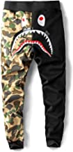 Big Mouth Shark Ape Bape Camo Mens Casual Sports Pants Fashion Jogger Shorts