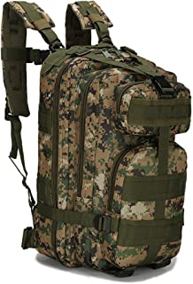 Hiking Tactical Military Backpack Molle 3 Day Bags For Camping Trekking Hunting