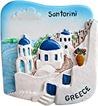 home /& Kitchen Decor magnetica sticker Grecia frigorifero Jian Ai ai 3D Santorini Grecia souvenir calamita da frigorifero
