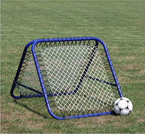 Rebounder Rimbalzatore PROFESSIONALE - due lati 105 cm x 105 cm, azurro - Tchoukball