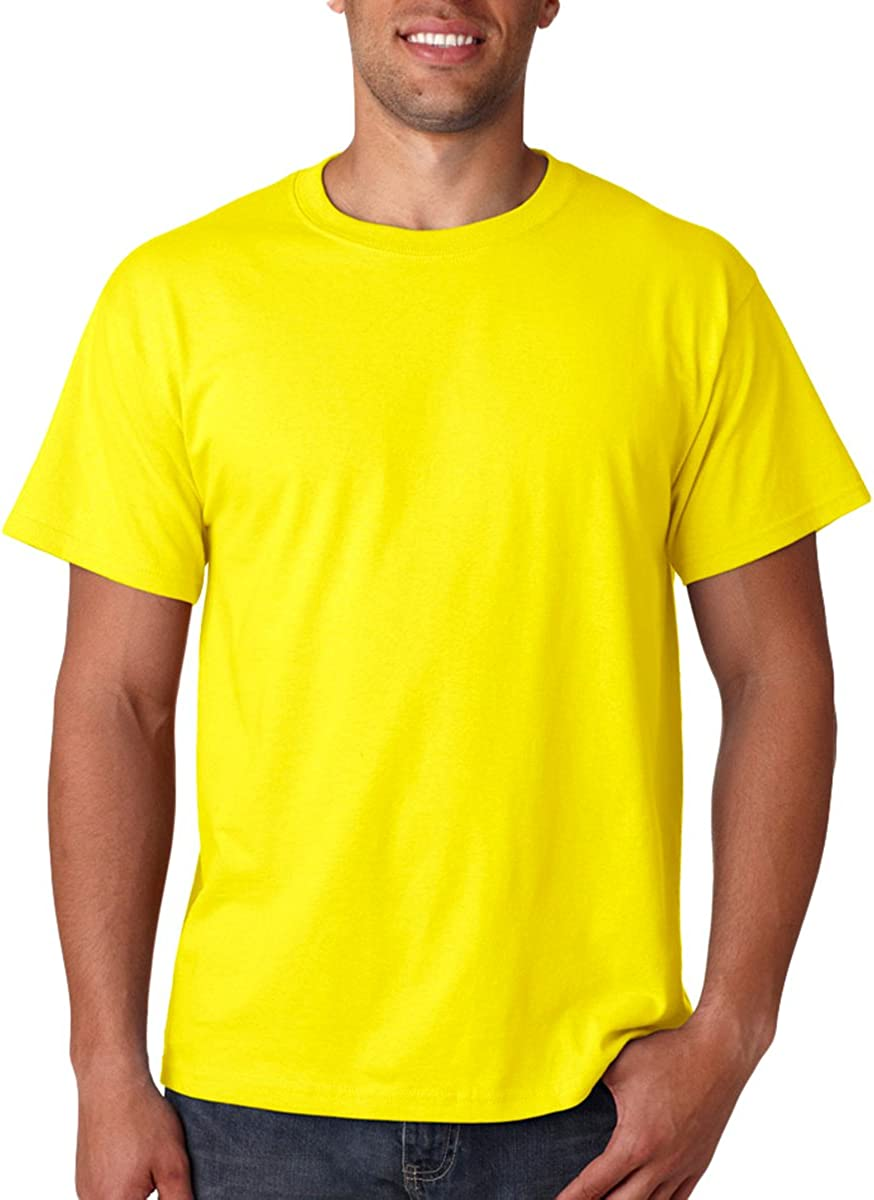 Fruit of the Loom Mens 5 oz. 100% Heavy Cotton HD T-Shirt (Pack of 6)