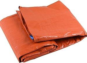 LIXIONG dekzeil dekzeil outdoor regenbestendig hardy zonwering opvouwbare hoes met metalen oogje PE kunststof, 9 maten (kl...