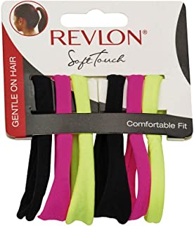 Revlon Essentials 6 Piece Soft Touch Hair Elastics