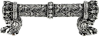 12-Inch Carpe Diem Hardware 823-11 Acanthus Pull Satin