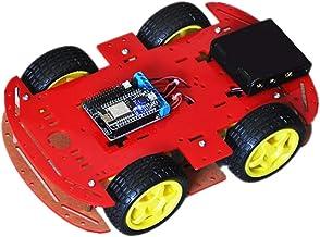 Almencla 4 WD Chasis Robusto para Automóvil Kit Placa de Controlador de Motor NodeMcu