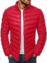 YANYUN 2019 3XL Down Jackets for Men Winter Light Zip Fashion Stand Collar Casual Long Sleeve Packable Warm Slim Coat Outwear