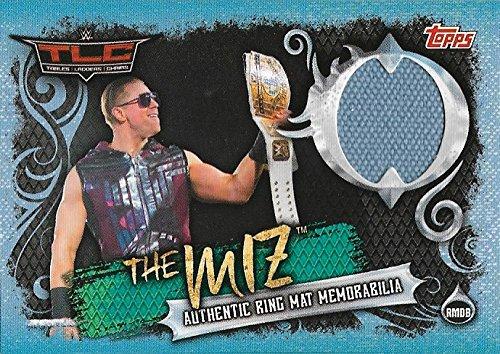 SLAM ATTAX LIVE WWE The Miz Ring Mat Memorabilia Tables Ladders Chairs TLC 2017