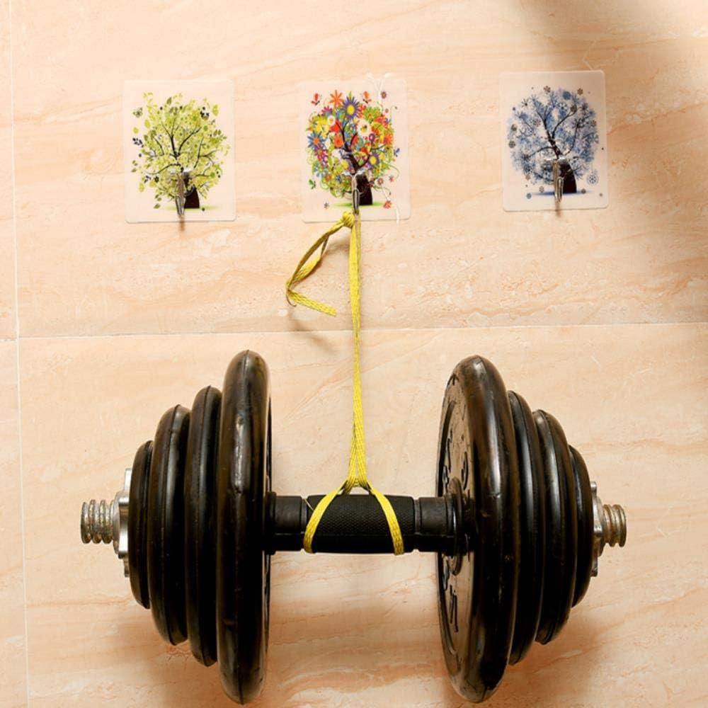 LIMMC BUF 4PCS Set Forte Bande Dessin/ée Crochets Recyclable /Étanche Traceless Autocollant Cintre Durable Tenture Murale Crochets Auto-Adh/ésifs 001