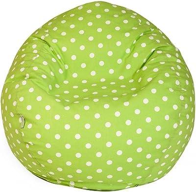 Amazon Com Lime Green Peace Sign Bean Bag Chair Kitchen