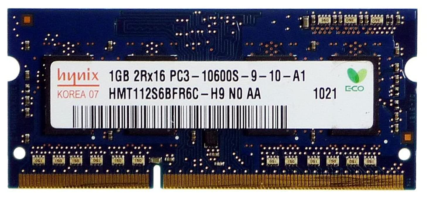 Hynix 1GB DDR3 Memory SO-DIMM 204pin PC3-10600S 1333MHz HMT112S6BFR6C-H9