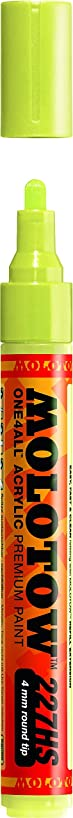 Molotow ONE4ALL Acrylic Paint Marker, 4mm, Poison Green, 1 Each (227.242)