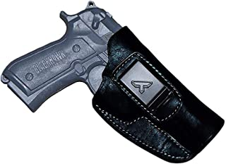 KoHolster Leather IWB Concealed Holster for Beretta 92/92F/92FS/-Walther P99-Cz75-Colt 1911 5