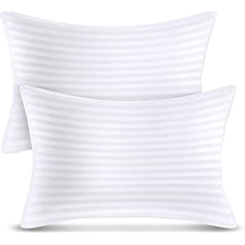 Utopia Bedding Bed Pillows (2-Pack) - Premium Plush Pillows for Sleeping - Queen Size 20 x 28 Inches - Cotton Pillows for Side, Stomach and Back Sleeper