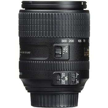Nikon 2216 AF-S DX NIKKOR 18-300 mm f/3.5-6.3G ED VR Lens, Black