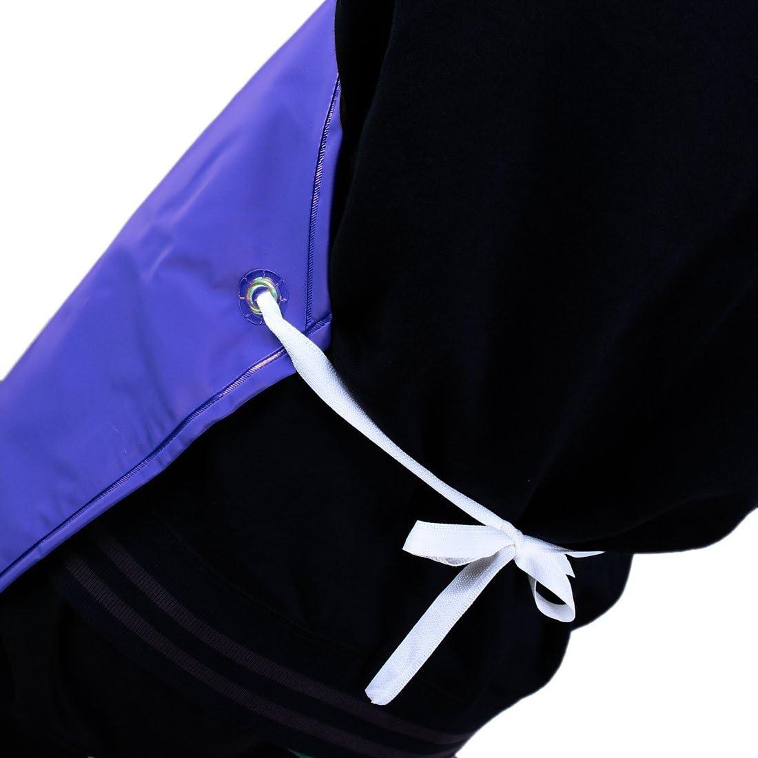 Zhaoke Tablier de Cuisine /Étanche Tablier Imperm/éable pour Restaurant Jardinage Bleu PVC Tablier de Travail pour Boucher Nettoyage Industria Extra Long 110 * 75 cm