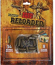 dV Giochi Games dvg9113–Reloaded, Set of Accessories for The Bang Card Game, Multicoloured