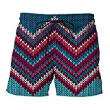 Creative Design Men's Beach Pants Seaside Comfortable Casual Shorts Funny 3D Printed Shorts SKT-939 XXXXL