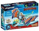 PLAYMOBIL DreamWorks Dragons 70728 Dragon Racing: Astrid und Sturmpfeil, Ab 4 Jahren