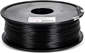 Inland 1.75mm Black PLA PRO (PLA+) 3D Printer Filament 1KG Spool (2.2lbs), Black