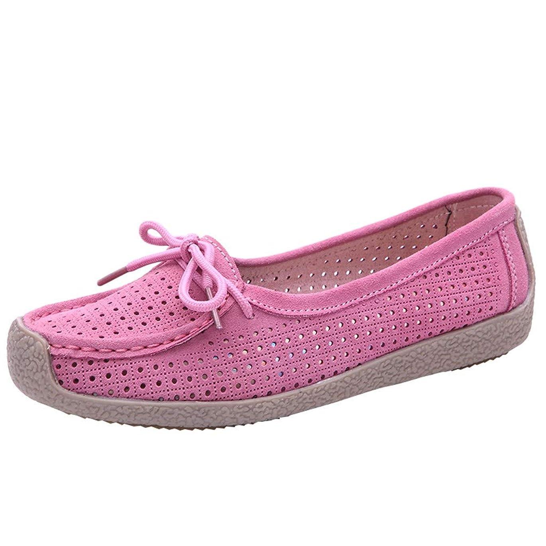 キネマティクス不注意植物のレディースシューズ パンプス Riyania モカシン カジュアル ぺたんこ フラットシューズ 婦人靴 足に優しい靴 軽量 歩きやすい カ 疲れにくい 万能 優雅 母 ママ お出かけ お買いもの 作業靴 女性用
