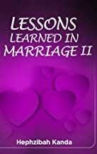 lessons learned in marriage book