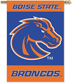 NCAA Boise State Broncos 2-Sided 28-by-40 inch House Banner with  Pole Sleeve