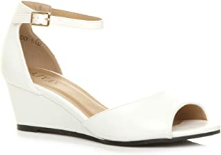 91bea0b229adb Amazon.co.uk: Wedge - Sandals / Women's Shoes: Shoes & Bags