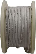 Aniai (250feet) Spool 18/2 SPT-1, SPT-2 Bulk Lamp Cord, 300-Volt 18-Gauge (spt1, white)