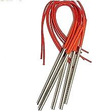 MeiZi 5PCS Tubular verwarmingselement 10mm Tube Diameter Elektrische verwarming Weerstanden Cartridge Heater Element for M...