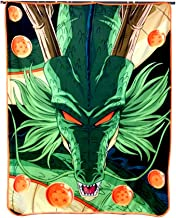 Just Funky Dragon Ball Super Fleece Blanket with Shenron Design, 45 x 60 inches