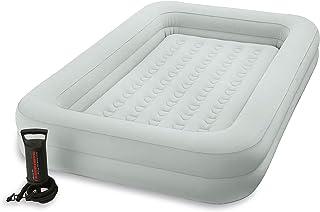 Intex Kidz Travel Bed with Hand Pump, Beige