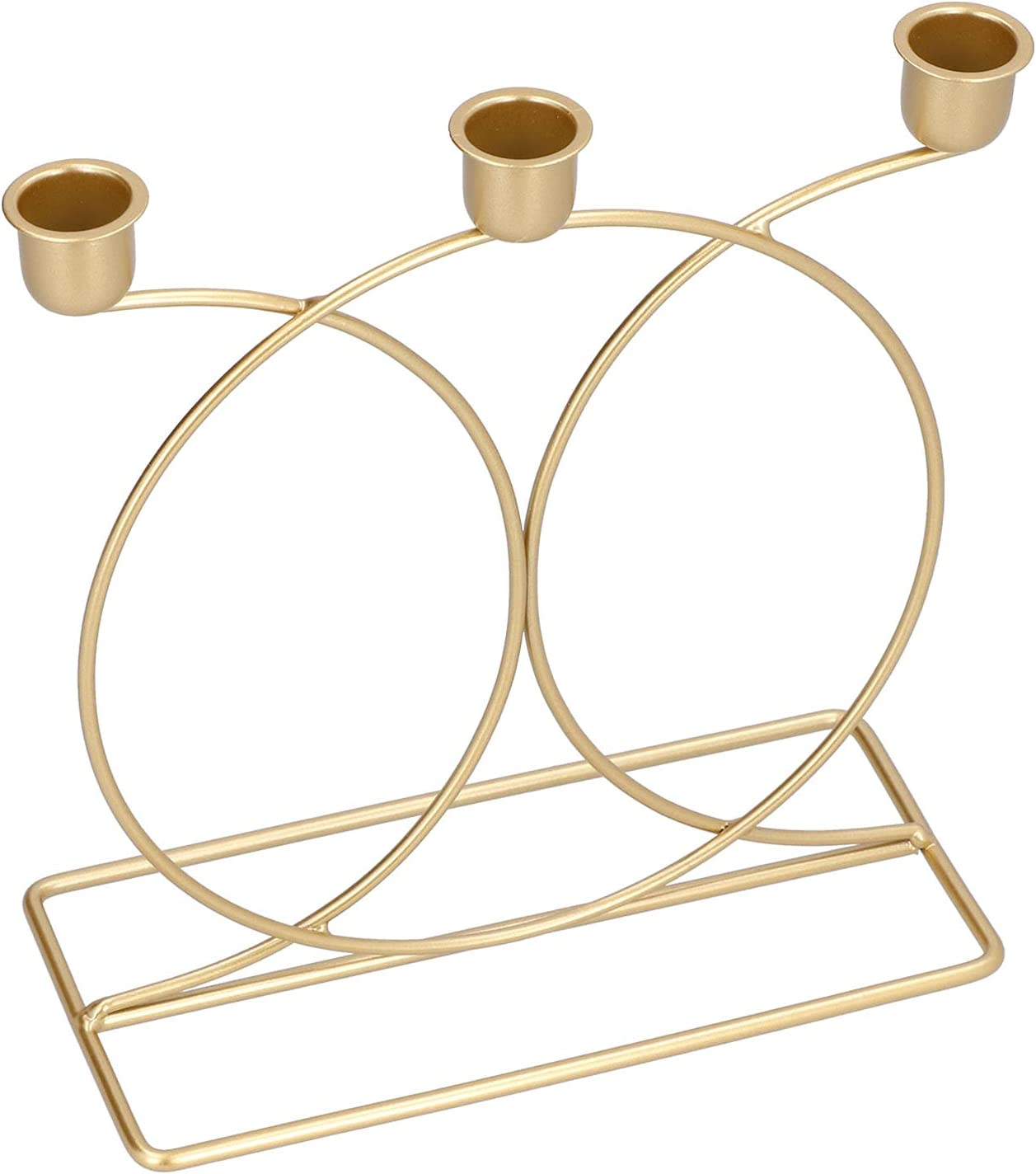 Candle Holder European Manufacturer OFFicial shop Style Holde Colorado Springs Mall Candelabra Iron